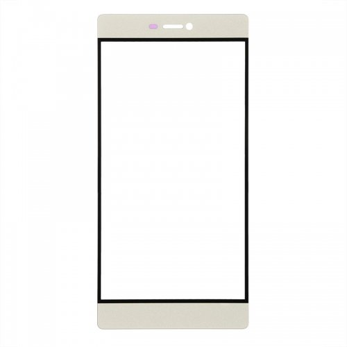 For Huawei Ascend P8 Front Glass Lens Gold