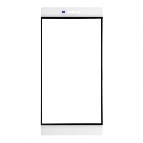 For Huawei Ascend P8 Front Glass Lens White