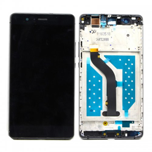LCD with Frame for Huawei Ascend P9 Lite Black
