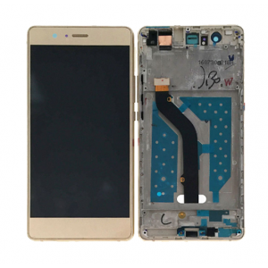 LCD with Frame for Huawei Ascend P9 Lite Gold