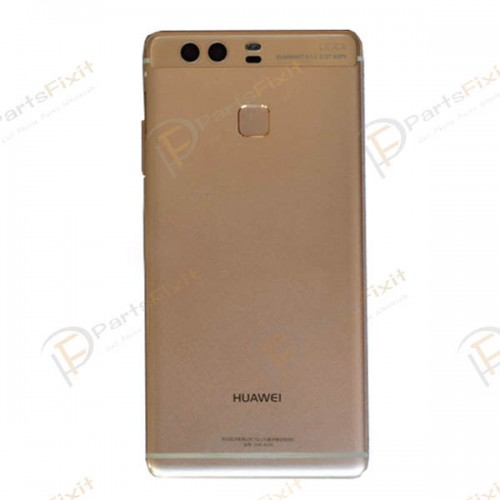 Battery Cover with Fingerprint Flex Cable for Huawei Ascend P9 Gold