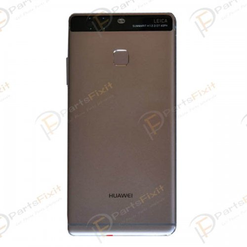 Battery Cover with Fingerprint Flex Cable for Huawei Ascend P9 Gray