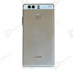 Battery Cover with Fingerprint Flex Cable for Huawei Ascend P9 White