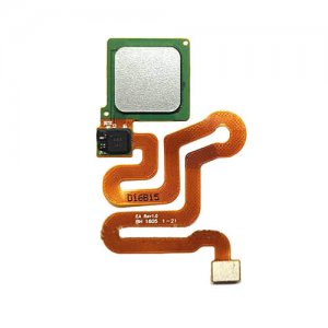 Fingerprint Sensor Flex Cable for Huawei Ascend P9 Silver