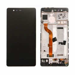 LCD with Frame for Huawei Ascend P9 Black