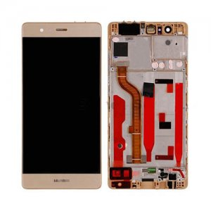 LCD with Frame for Huawei Ascend P9 Gold