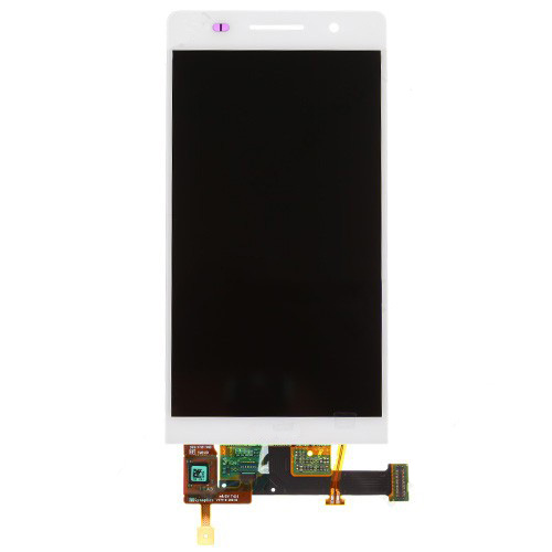 Huawei Ascend P6 LCD and Touch Screen Assembly -Wh...