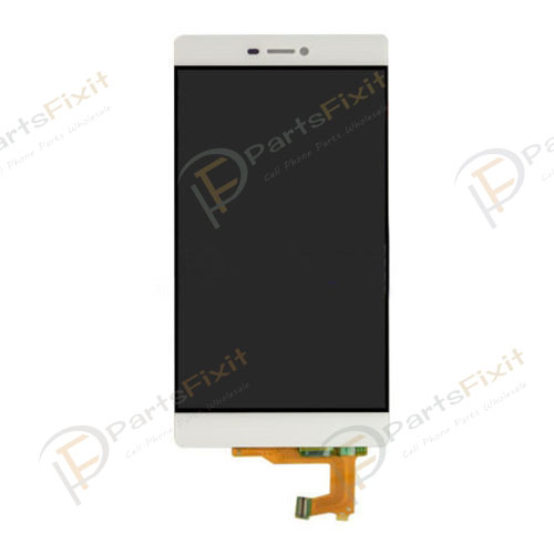 LCD with Digitizer for Huawei Ascend P8 White