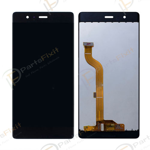 LCD with Digitizer for Huawei Ascend P9 Black