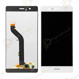 LCD with Digitizer for Huawei Ascend P9 White