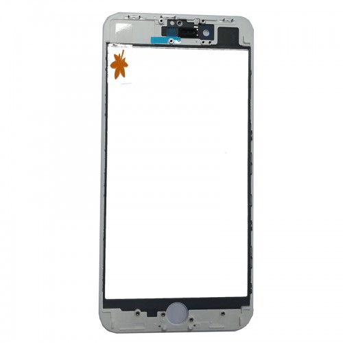 For iPhone 8 Plus Front Glass with Frame and OCA P...