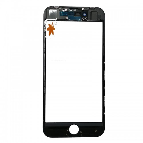 For iPhone 8 Front Glass with Frame and OCA Pre-in...