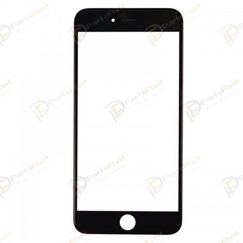 For iPhone 6 Front Glass with Frame Black Original Glass and Cold Press