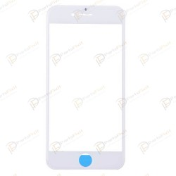 For iPhone 6S Plus Front Glass with Frame White Original Glass Cold Press