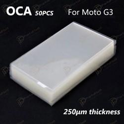 For Motorola Moto G3 OCA Optical Clear Adhesive 50pca/pack