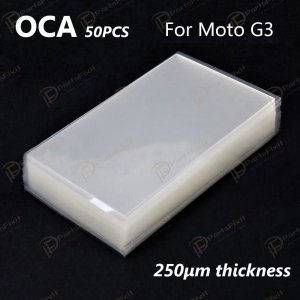 For Motorola Moto G3 OCA Optical Clear Adhesive 50pca/pack