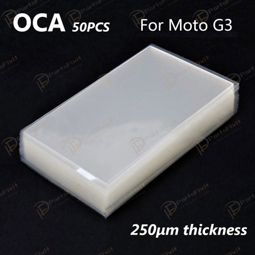 For Motorola Moto G3 OCA Optical Clear Adhesive 50...