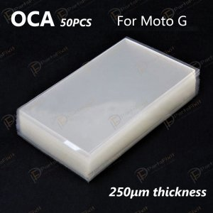 For Motorola Moto G and Galaxy S5 Mini OCA Optical Clear Adhesive 50pca/pack