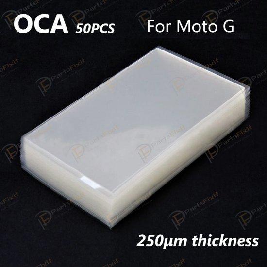 For Motorola Moto G and Galaxy S5 Mini OCA Optical Clear Adhesive 50pca/pack
