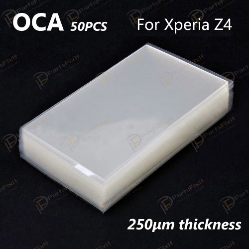 For Sony Xperia Z4 OCA Optical Clear Adhesive 50pc...