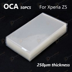 For Sony Xperia Z5 and LG G2 OCA Optical Clear Adhesive 50pcs