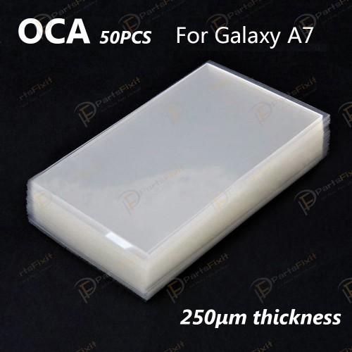 Mitsubishi OCA Optical Clear Sticker for Samsung Galaxy A7 50pcs