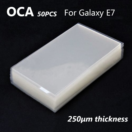 Mitsubishi OCA Optical Clear Sticker for Samsung Galaxy E7 50pcs