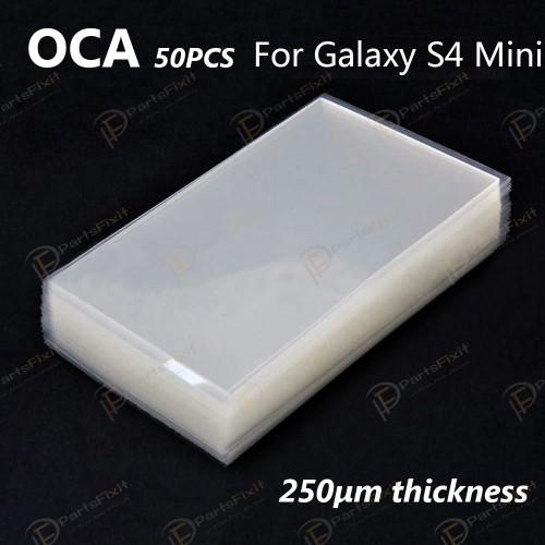 Mitsubishi OCA Sticker for Samsung Galaxy S4 Mini ...