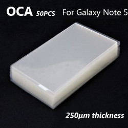 Mitsubishi OCA Optical Clear Sticker for Samsung Galaxy Note 5 50pcs