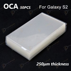 High Quality Mitsubishi OCA for Samsung Galaxy S2 LCD Digitizer 50pcs