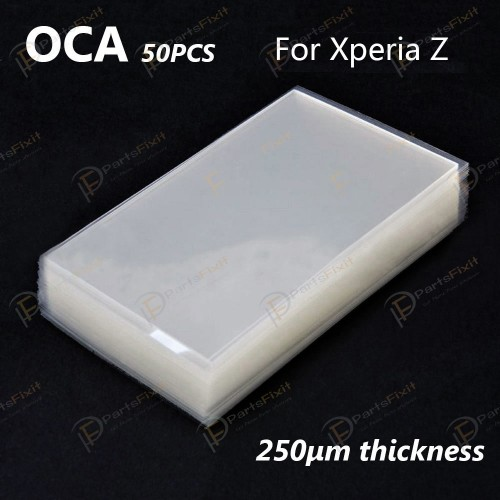 Mitsubishi OCA Optical Clear Sticker for Sony Xper...