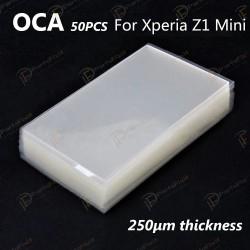 Mitsubishi OCA Optical Clear Sticker for Sony Xperia Z1 Compact 50pcs