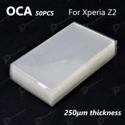 Mitsubishi OCA Optical Clear Sticker for Sony Xperia Z2 50pcs