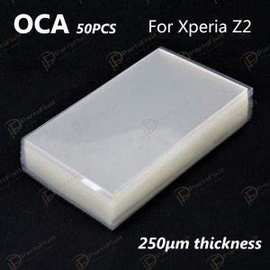 Mitsubishi OCA Optical Clear Sticker for Sony Xperia Z2 50pcs