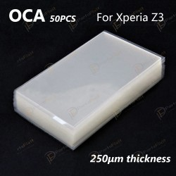 Mitsubishi OCA Optical Clear Sticker for Sony Xperia Z3 50pcs