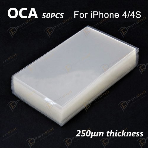 High Quality Mitsubishi OCA for iPhone 4/4S LCD Digitizer 50pcs