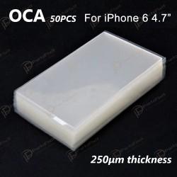 High Quality Mitsubishi OCA for iPhone 6 iP6s iP7 iP8 LCD OCA Repairing 50pcs