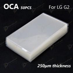 Mitsubishi OCA Optical Clear Sticker for LG G2 50pcs