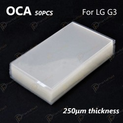 Mitsubishi OCA Optical Clear Sticker for LG G3 50pcs