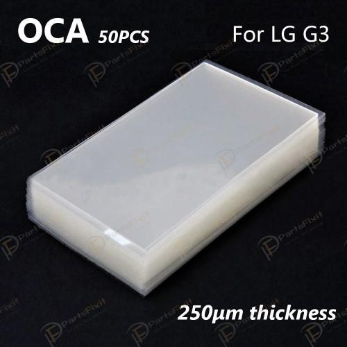 Mitsubishi OCA Optical Clear Sticker for LG G3 50p...