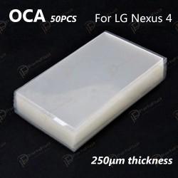Mitsubishi OCA Optical Clear Sticker for LG Nexus 4 50pcs