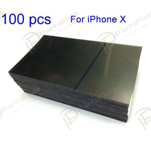 For iPhone X LCD Polarizer Film 100pcs/lot
