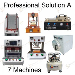 Professional Solution A for LCD Refurbish Full Line Equipments