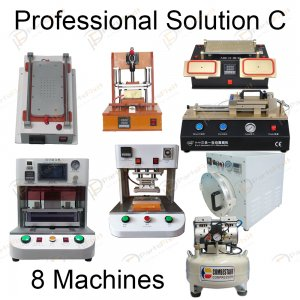 Professional Solution C for LCD Refurbish Full Line Equipments