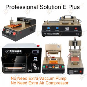 Professional Solution E Plus for LCD Refurbish Full Line Equipments