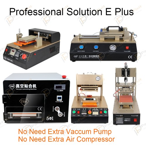 Professional Solution E Plus for LCD Refurbish Full Line Equipments