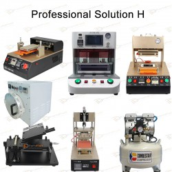 Professional Solution H for iPhone LCD Refurbishment Full Line Equipments