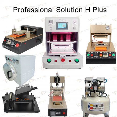 Professional Solution H Plus for iPhone LCD Refurbishment Full Line Equipments