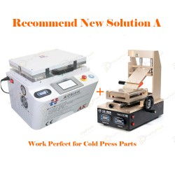 Recommend New Solution A for iPhone LCD Refurbish by Cold Press Materials