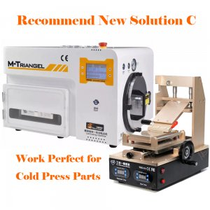 Recommend New Solution C for iPhone LCD Refurbish by Cold Press Materials